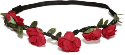 ToniQ Rose Red Head Band