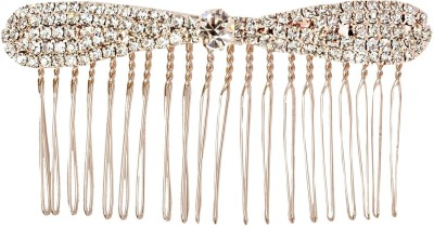 Itz About U Cz Bow Shaped Hair Pin
