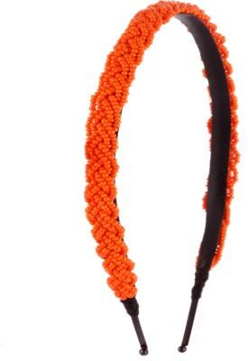 Trinketbag Beady (Orange) Hair Band
