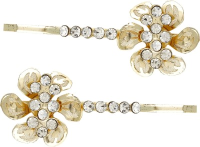 Dimple Creation stone studded Hair Pin