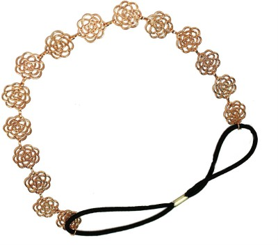 Creative India Exports Women Gold Roses Hair Chain(Gold)