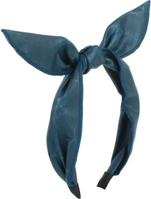 Fayon Contemporary Statement Sky Bunny Bow Hair Band