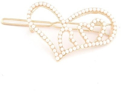 Crunchy Fashion Heart To Heart Hair Pin