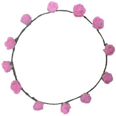 FashBlush Forever New Pretty Glam Roses Flower Leaf Tiara/Crown Head Band