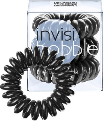 Invisibobble Traceless Ring True Black Rubber Band