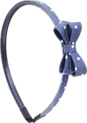 RUBANS Blue Bow Hair Band
