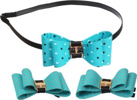 Takspin Bow Themend Combo Hair Accessory Set