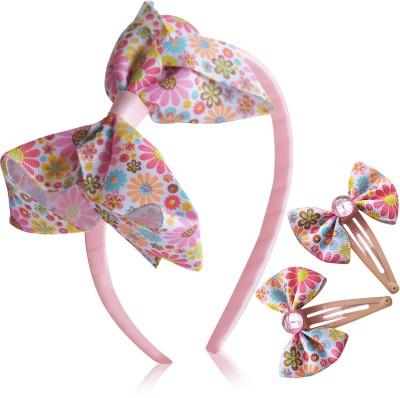 Hopscotch Floral Printed Hair Accessory Set