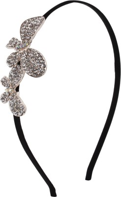 Fayon Unique Rhinestone Flower Hair Band