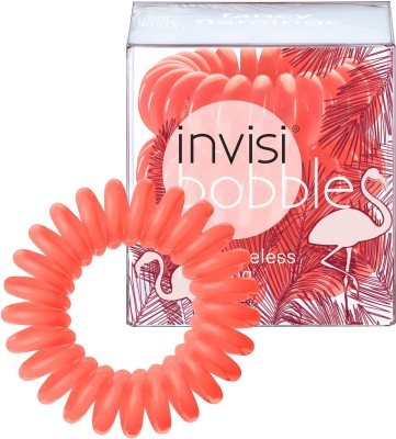 Invisibobble Traceless Ring - Wild Whisper Collection Fancy Flamingo Rubber Band