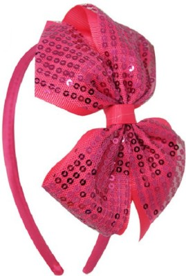 Angel Closet Sequins Bow Hair Band