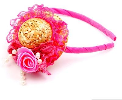 Sanjog Sanjog Pink Bubbly Hat Style Joot For Girls/Kids Hair Band