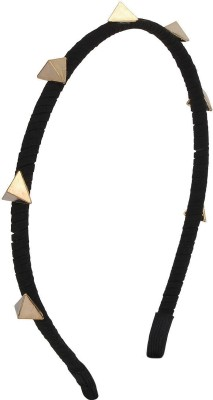 Fayon Fabulous Statement Golden Triangles Hair Band