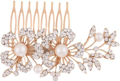 Dazzle Collections Floral Funky Hair Pin