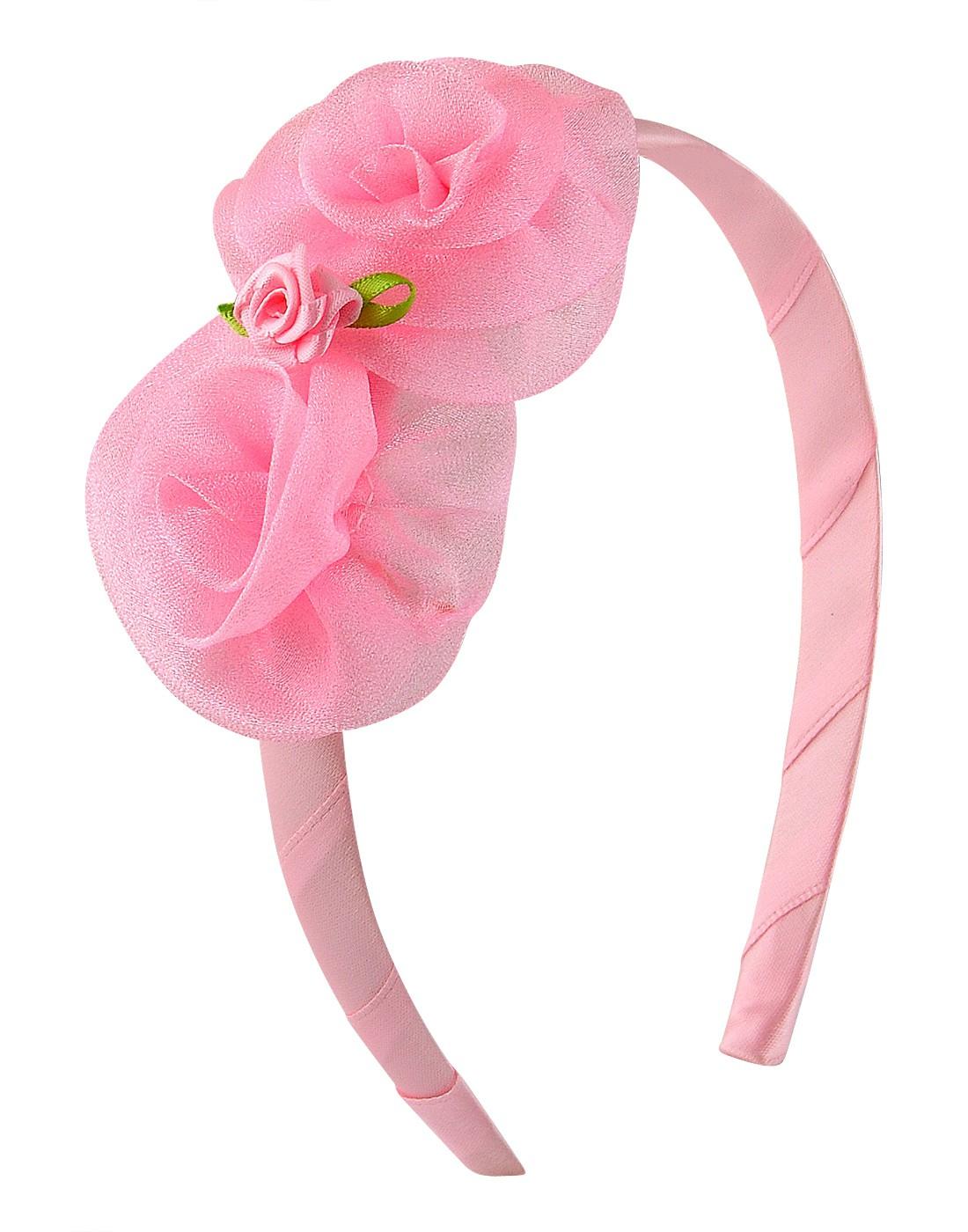 Stoln Rosette Hair Band(Pink)