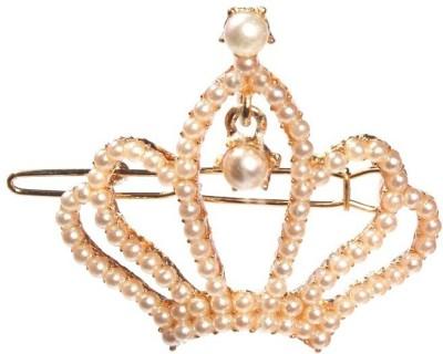 Crunchy Fashion Contemporary Crown Hair Clip