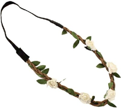 Aaishwarya White Wild Flower Head Band