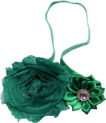 Anch Cute GreenZy Floral Head Band