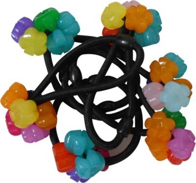 Adbeni Black Nylon Coated With Plastic Flowers Good Choice Rubber Band