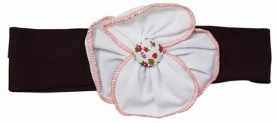 Pink & Blue India Fabulous Baby With Flower Head Band