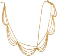 Knighthood Multi Layer Gold Hair Chain(Gold)