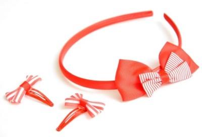Pretty Women Fiber Hair Accessory Set(Red)