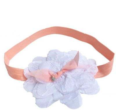 Young & Forever Cute White Floral Princess Touch Head Band