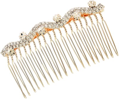 20Dresses Up And Down The Curve Studded Hair Clip(Gold)