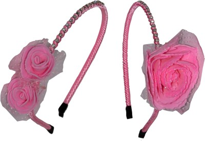 GD Pink Floral Hair Accessory Set
