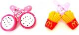 Achal hair clip Tic Tac Clip (White, Yel...