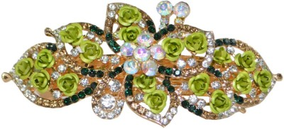 Kaumudi Green Color Stylish Hair Clip