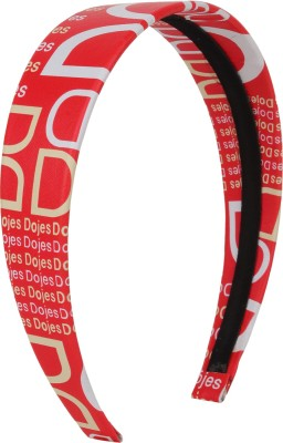JUSF2 Red Color Hair Band