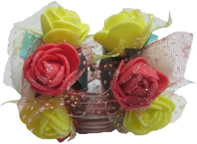Advance Hotline Floral Design handmade clutch Hair Claw