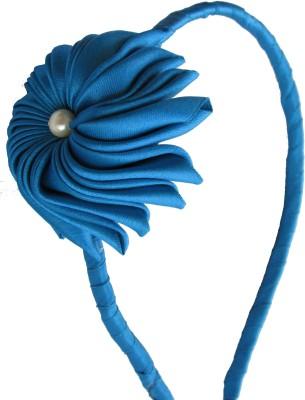 GD Blue Flower Hair Band