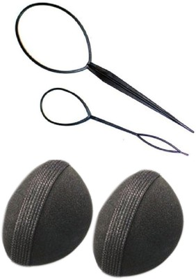 Pankh Puff Bun And Topsy Tail Maker Combo Hair Accessory Set