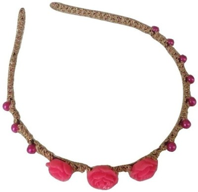 Viva Fashions Roses and Beads Hair Band
