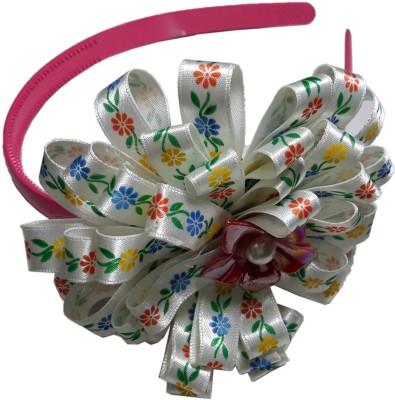 Apeksha Arts White Floral Hair Band Head Band