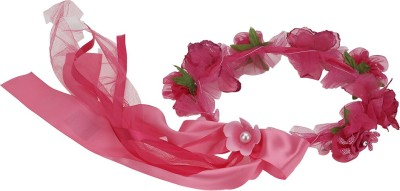 Samyak Rose Pearl Hair Accessory Set