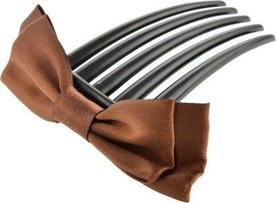 Aaishwarya Brown Bow knot Comb Hair Clip