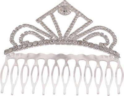 Pink chick Tiara With Comb Hair Claw