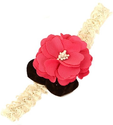 Young & Forever Cute Plum Bow Head Band