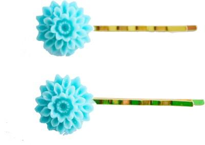 Bows Are Wows chrysanthemum flower Hair Pin
