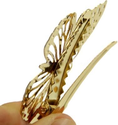 Toygully Golden Butterfly Hair Clip Headband Hairpin Hair Clip