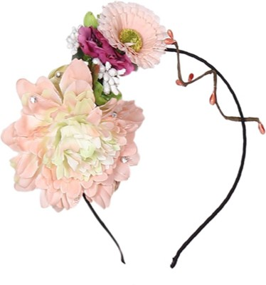 Cutecumber Flowers & Crystals Hair Band