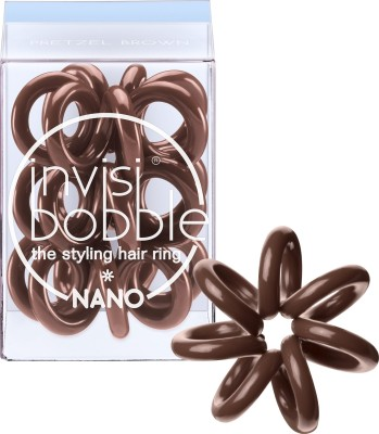 INVISIBOBBLE NANO PRETZEL BROWN Rubber Band