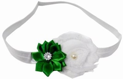 Pink & Blue India Sweetly Baby Satin Flower Head Band