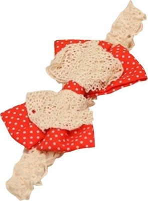BabyZinnia Cute Dotted bowknot linen lace Head Band