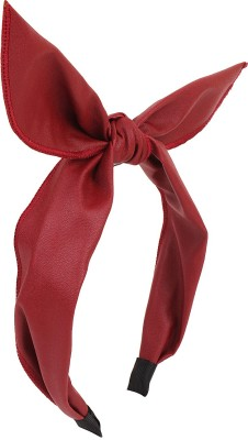 Fayon Contemporary Statement Red Bunny Bow Hair Band