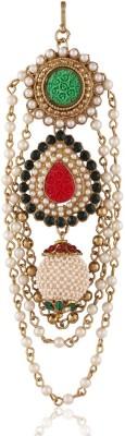 I Jewels Pearl Hanging Hair Pin