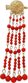 Vogue Latest Wedding Party Bridal Fancy Hair Clip(Red)